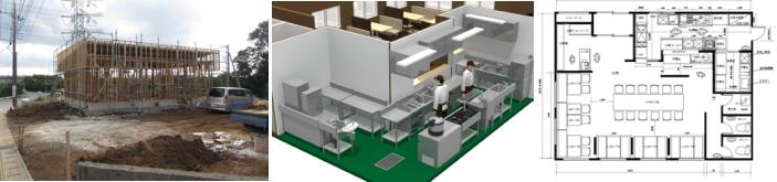 3D店舗設計図面