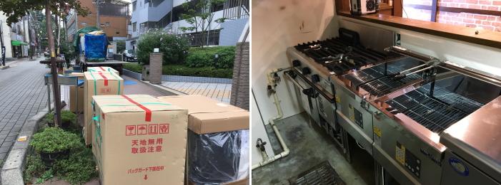 居酒屋厨房設計 埼玉